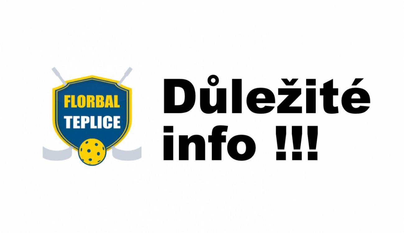 Oznámení o konání členské schůze Florbal Teplice z.s.